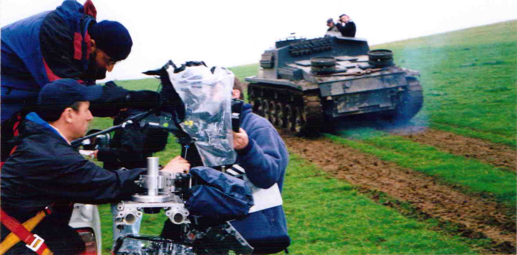 Panzer Tank in action!
