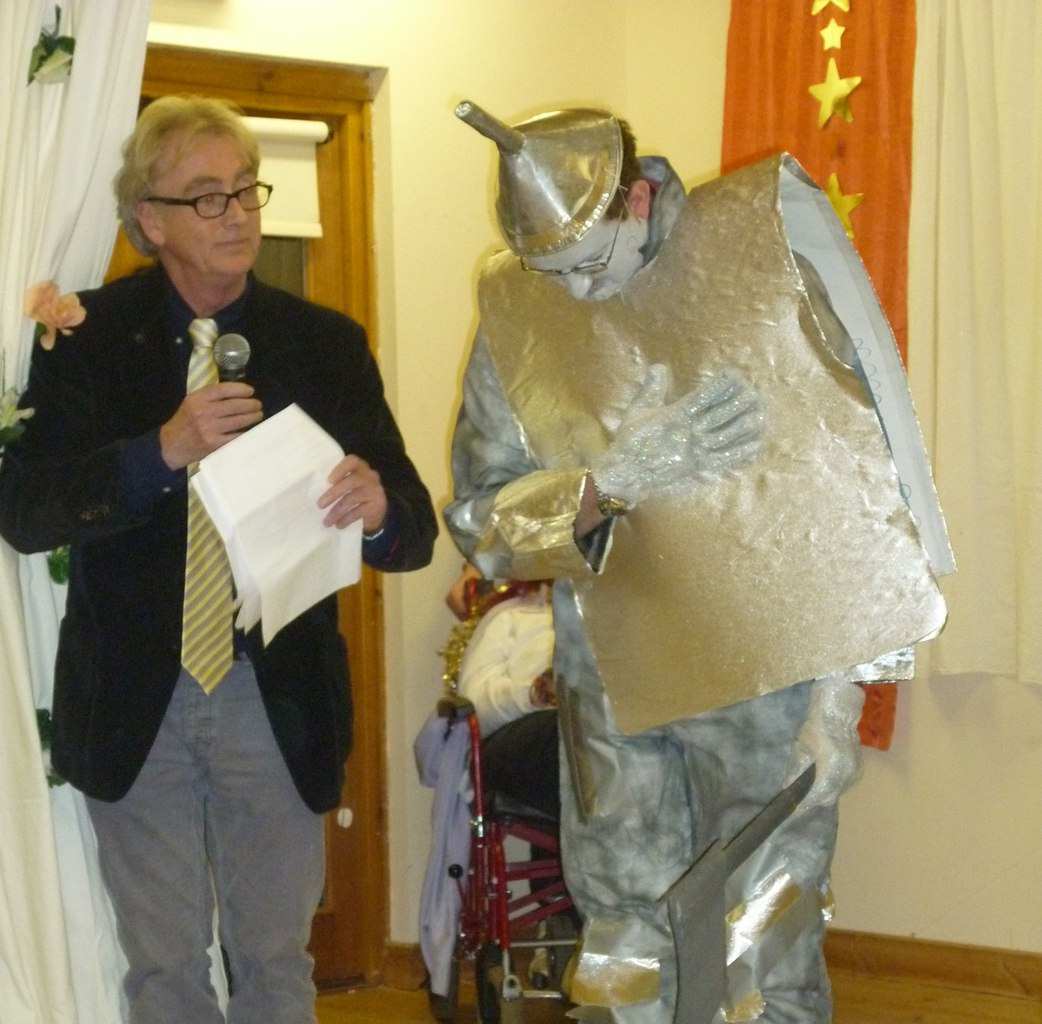 RE and the Tin Man in Wiz of Oz