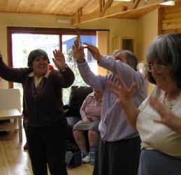 L'Arche drama workshop